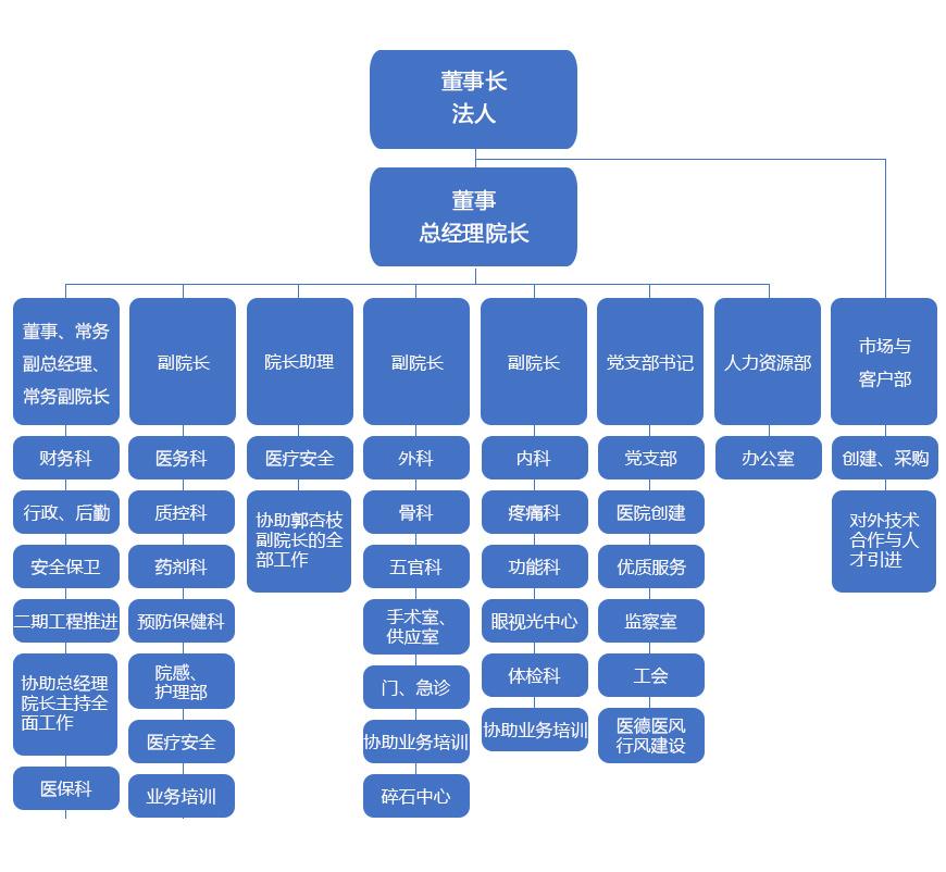 桃源县康复医院组织架构图
